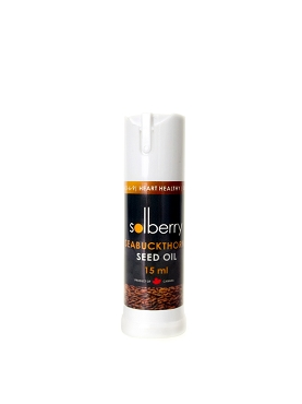 Unrefined Seabuckthorn Seed/Skin Oil - 15 ml